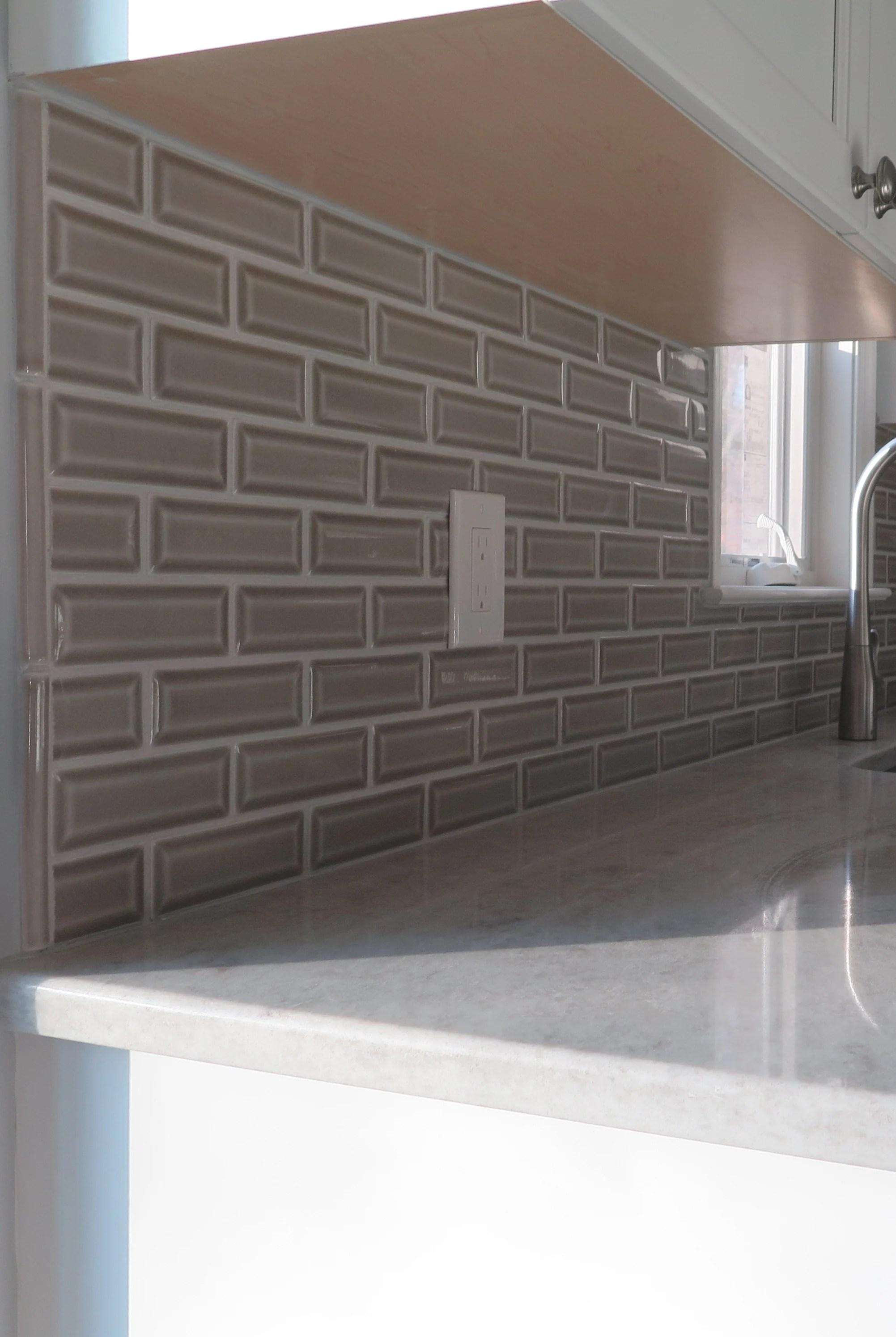 how to install a tile backsplash monk