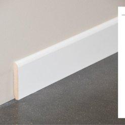 Plinthe MDF blanche - 70x10mm