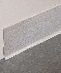 Plinthes à lèvre pvc pour une protection optimale-décor chêne cendré
