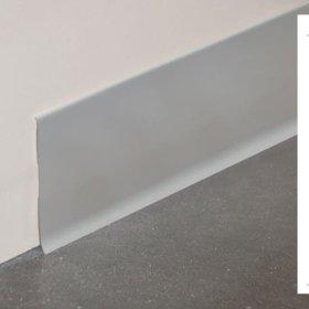 Plinthe à lèvre rigide PVC en gris avec dimensions