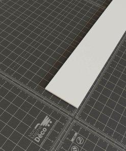 Profil plat PVC en 40mm