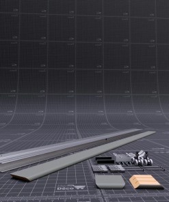 Kit rail Coulicool avec cache rail Gris Blanchi