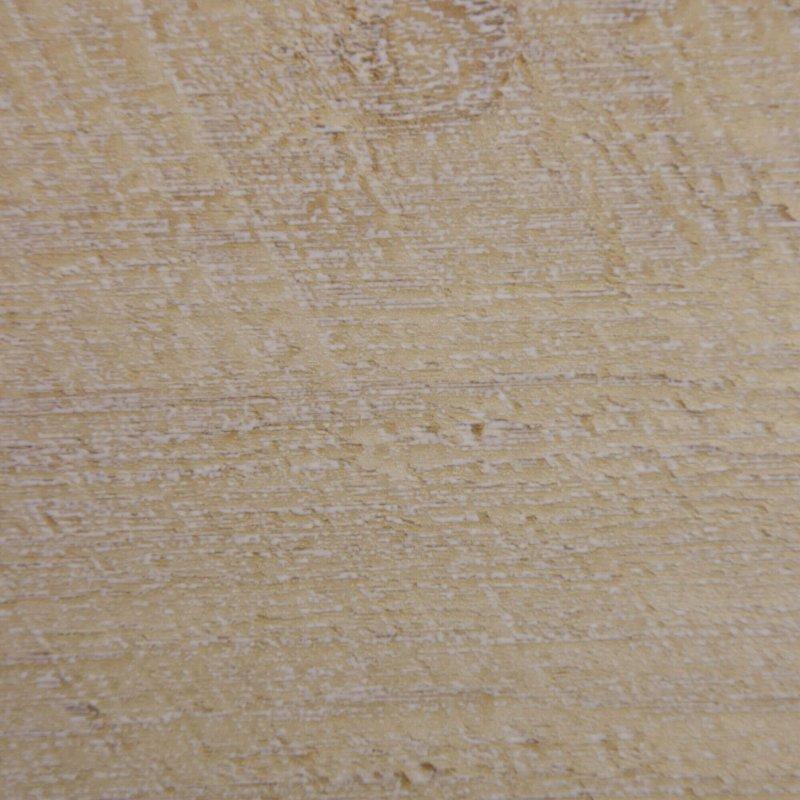 Décor de la plinthe Planche blanchie