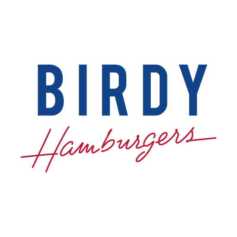 Logo du restaurant Birdy Hamburger ayant mis en place le menu digital et le cahier de rappel