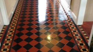 Deep Cleaning Victorian Floor Tiles Cleaning Tile