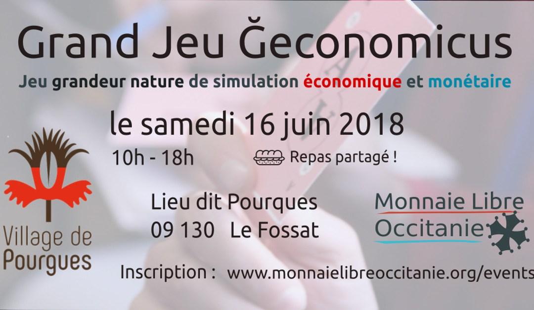 Jeu Ğeconomicus au Village de Pourgues