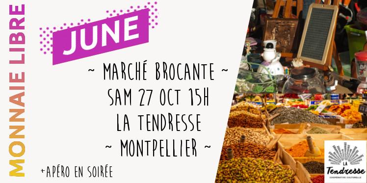 Brocante en monnaie libre ~ Montpellier