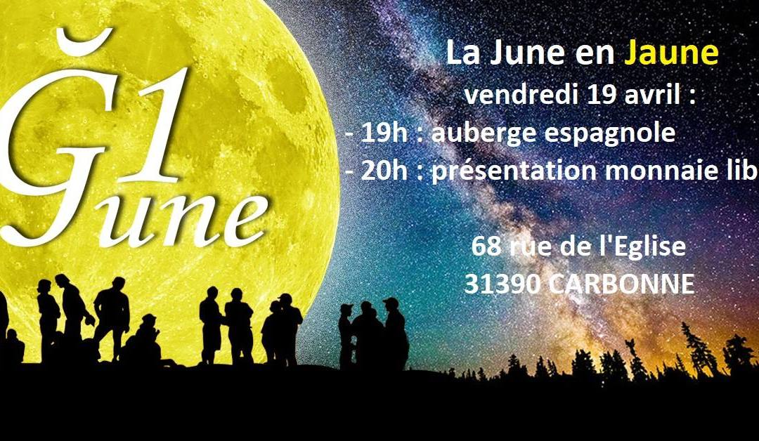 La June en Jaune à Carbonne