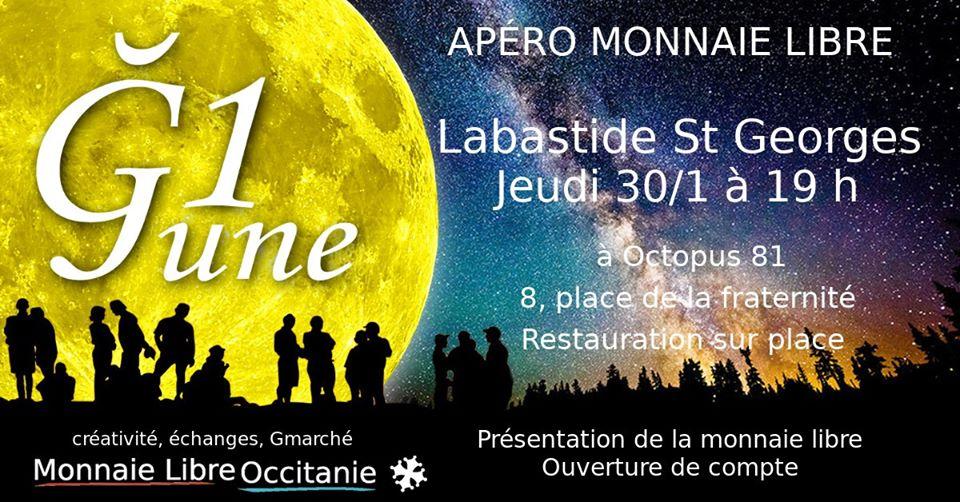 Apéro Monnaie Libre à Labastide Saint Georges