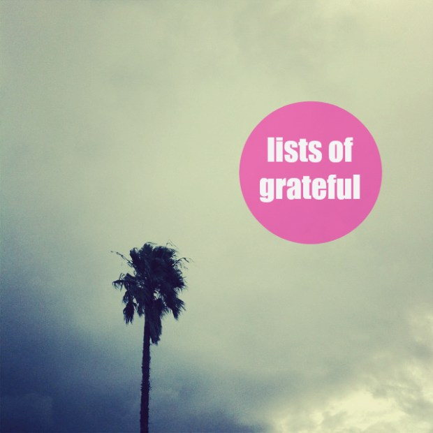 lists of grateful