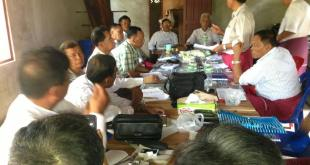 AMDP central executive meeting (Photo: Min Wat Na Kyi's Facebook)