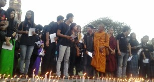 youths gathering for peace prayer service (Photo IMNA)
