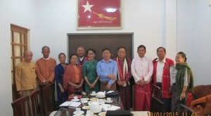 UNA and NLD Meet for Talks