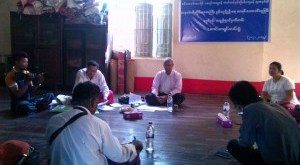 Press Conference of the Mon Population Collecting Group (Ko Thu)