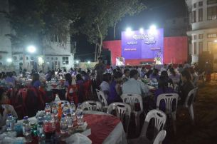 Mon Women's Day celebration in Moulmein (photo: IMNA)