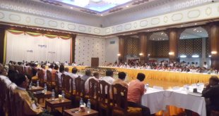 President meets with political parties' members (Photo: SZN)