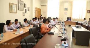 Representatives meet for higher education talk ( Photo: Saw Zin Nyi)