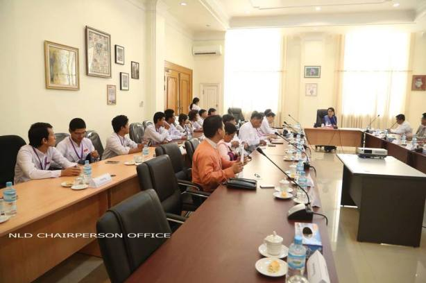 Representatives meet for higher education talk ( Photo: Saw Zin Nyi)
