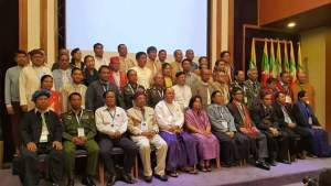 Representatives of the Union Peace-making Working Committee and the Nationwide Ceasefire Coordination Team - Senior Delegation(SD) (photo: MPC)