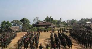 Ta'ang National Liberation Army troops