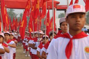 Photo caption: Parade to 69th Mon National Day Center (Photo: Sai Mon)