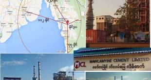 Mawlamyine Cement Limited and its operating locations (Photo: Internet)