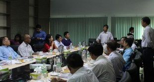 Meeting between Mon Hluttaw representatives and MCL officials (Photo: MNA)
