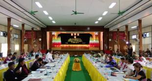 Meeting to establish the Mon State JMC (Photo: MNA/Mon Htaw)