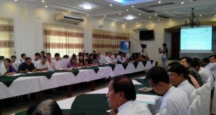 Representatives presented at regional civil society forums in Mon State, in 2014 (Photo: HURFOM)