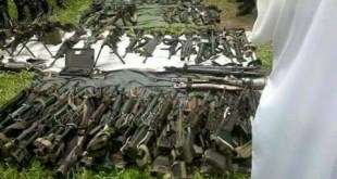 Seized weapons (Photo: Saw Lay/Facebook)