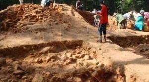 Ancient Suvarnabhumi excavation site