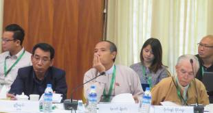 Photo caption: Meeting aimed at re-analysing political discourse framework (Photo: Hla Maung Shwe)