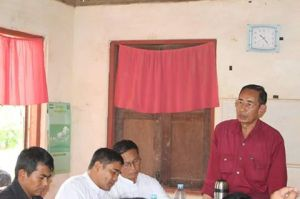 KNU and NMSP officials in September (Photo: Internet)