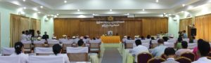 Fourth regular session of Mon State Hluttaw conference (Photo: Mon Hluttaw)