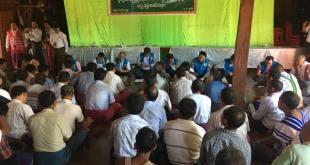 JMC-S public meeting (Photo: Aung Naing Win)