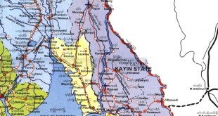 Ethnic states: Karen and Mon states part Burma (Photo: myanmars.net)