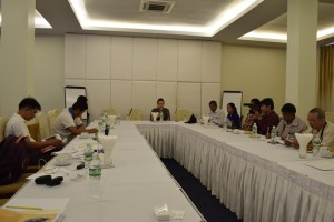 Officials from Swiss Embassy meet with reporters (Photo: MNA)