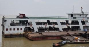 A Mawlamyine-Bilugyun Ferry (photo: MNA)