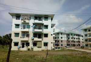 Mon State government wants to build more affordable apartments like those at the Thiri Mingalar Housing complex in Mawlamyine. (Photo – MNA)