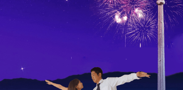 結婚披露パーティー用のフライヤーとウェルカムボードポスターを制作しました。