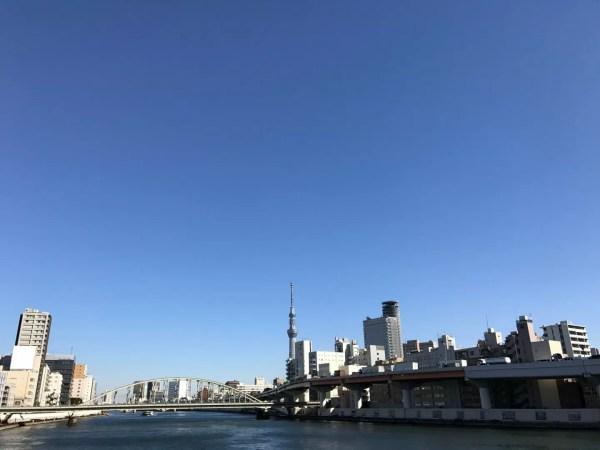 両国橋からの隅田川