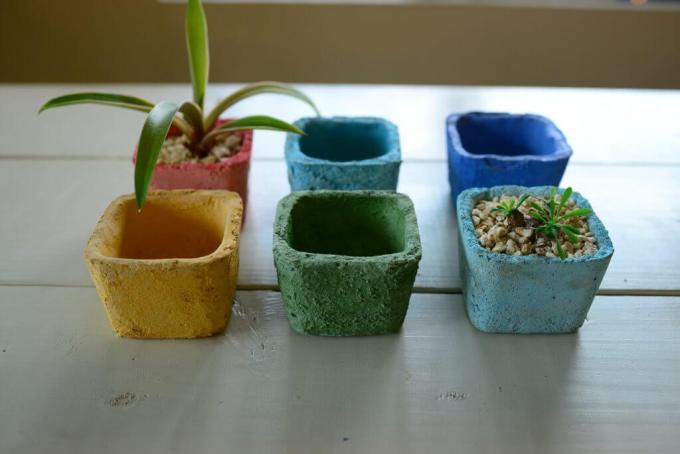 琉球漆喰鉢のカラー