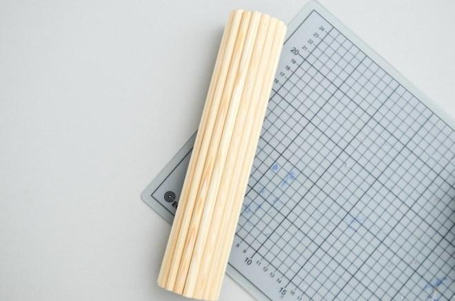 DIY-Anleitung für eine selbst gemachte Holzvase