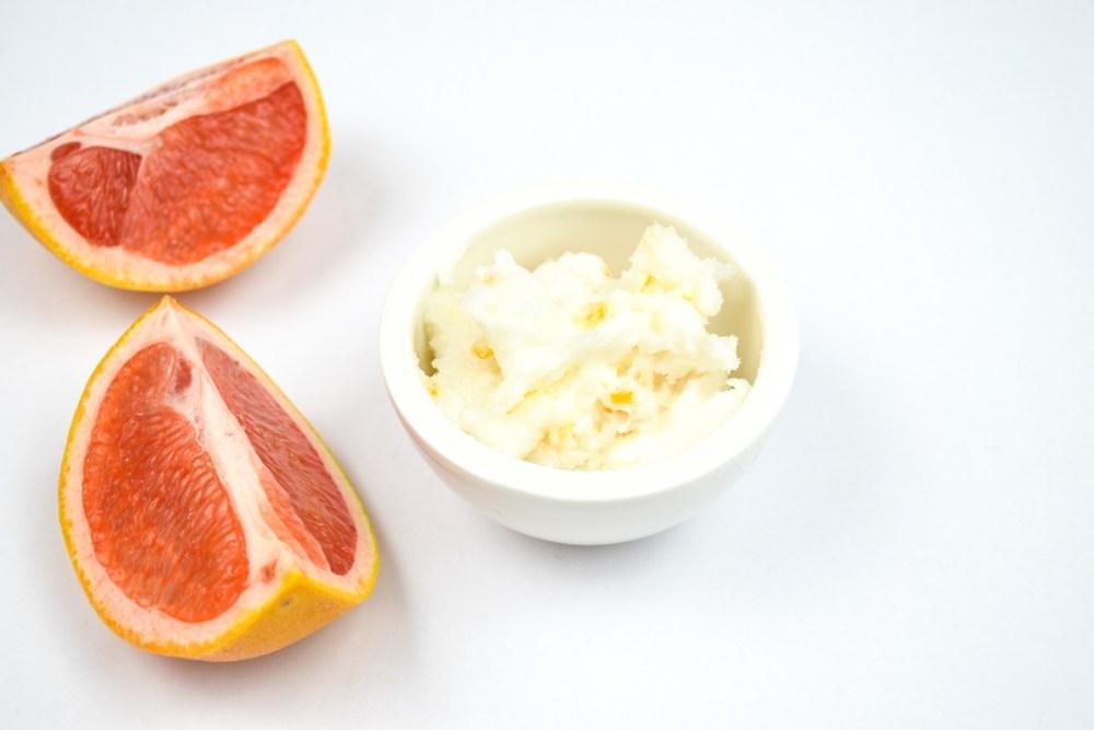 DIY Grapefruit-Peeling