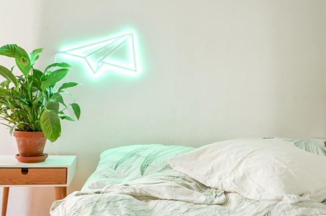DIY LED Papierflieger für Paulmann