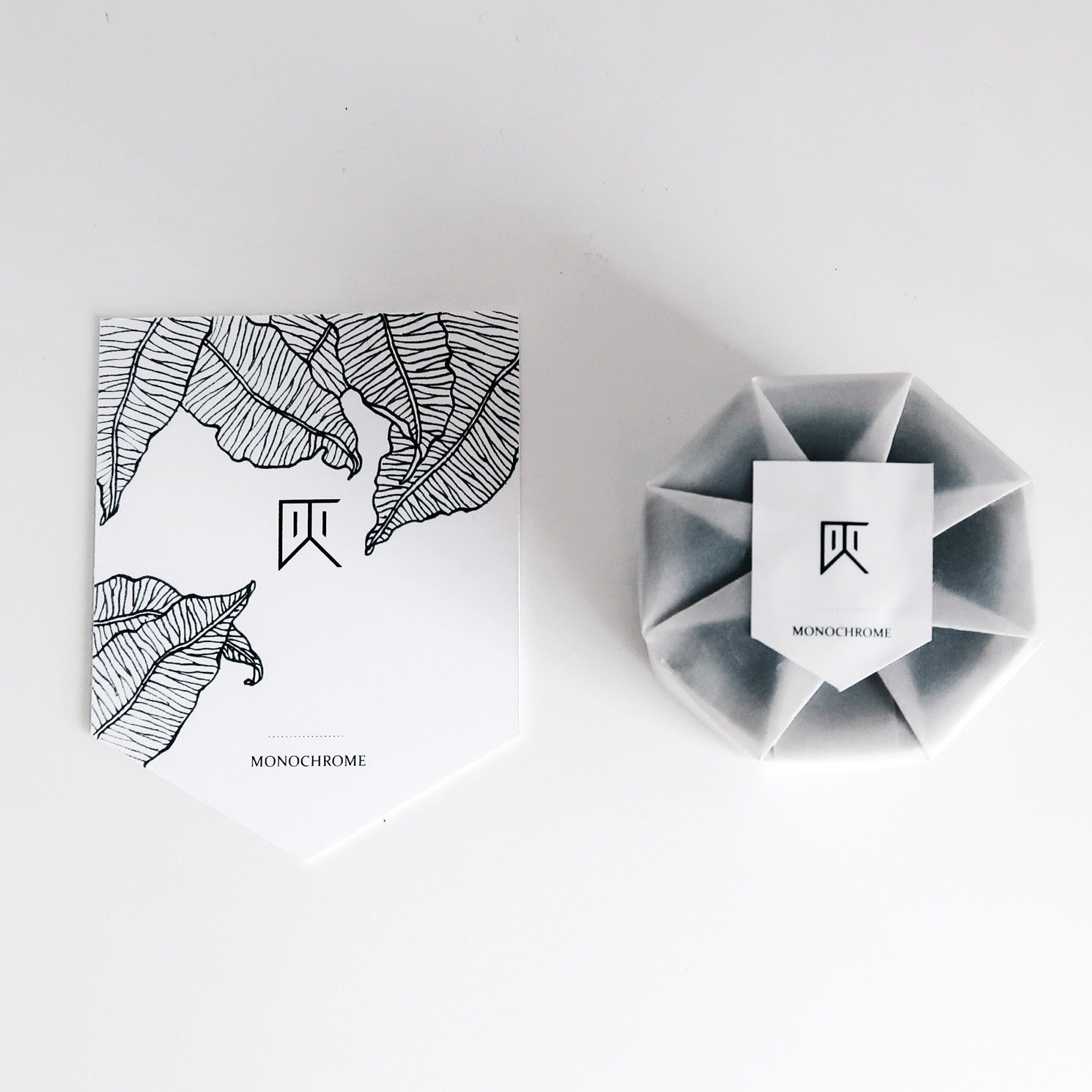水泥設計禮物包裝:商品卡與手工紙盒