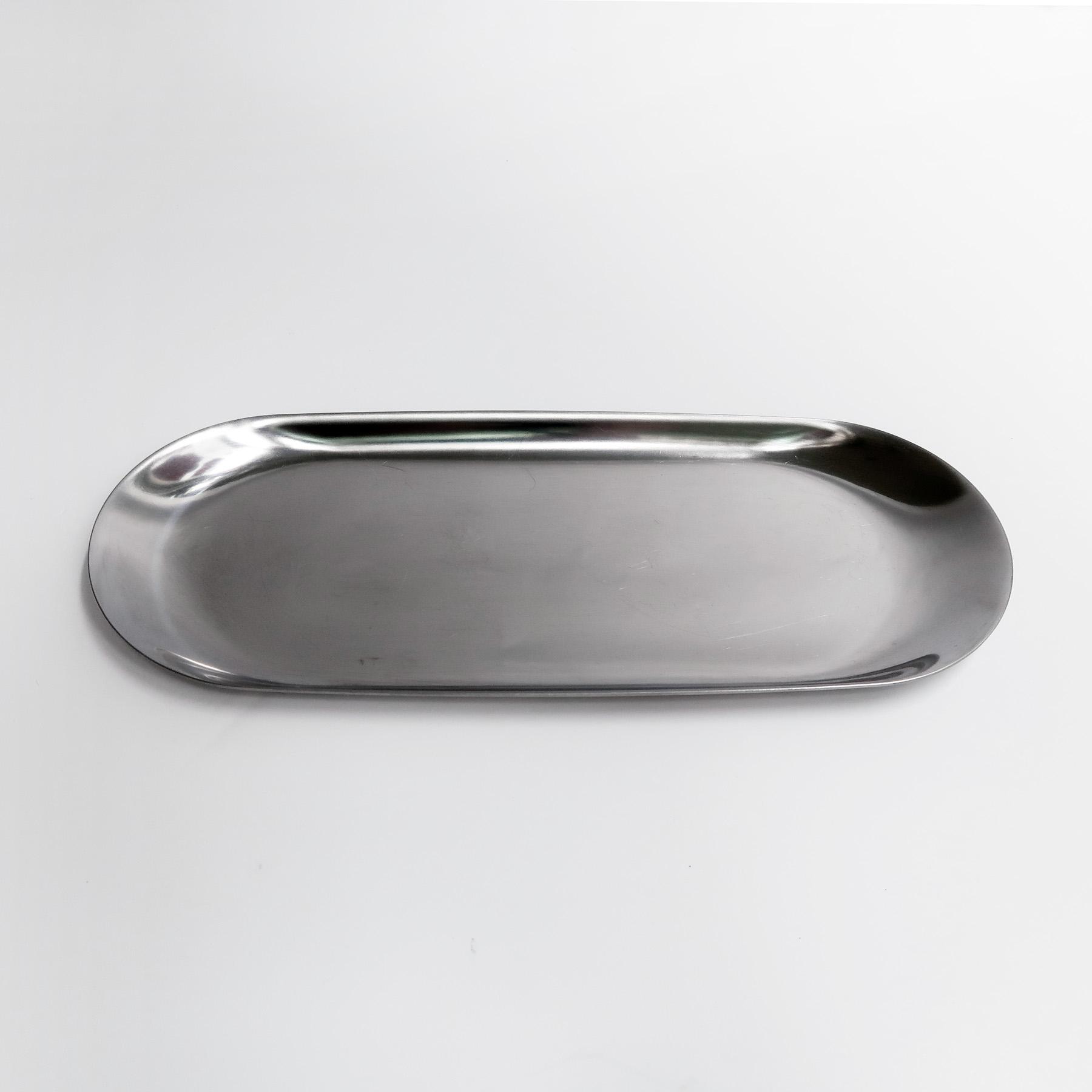 BLOOMING 多用途銀色托盤・收納盤・飾品盤