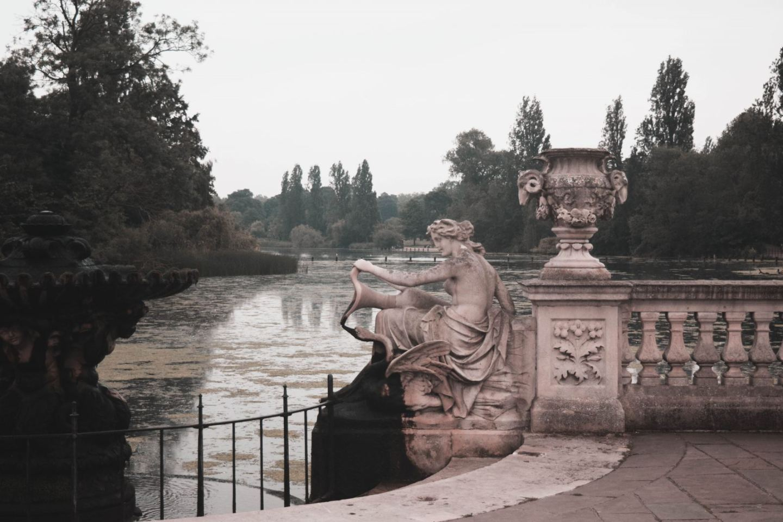 London gardens - Hyde Park, Kensington Gardens
