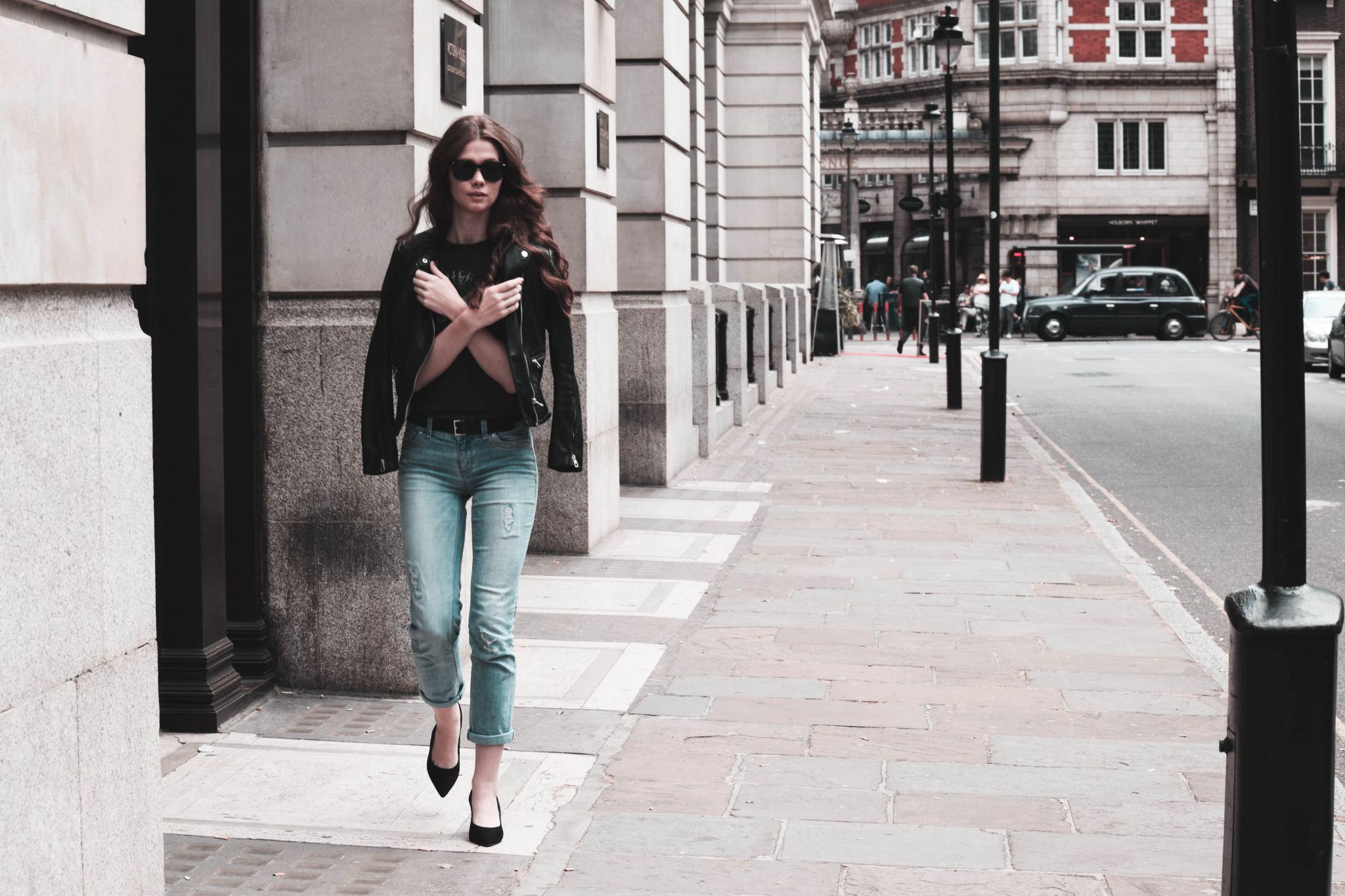 City | London Diaries | Anine Bing | ACDC | AllSaints | Monochrome Minimalist
