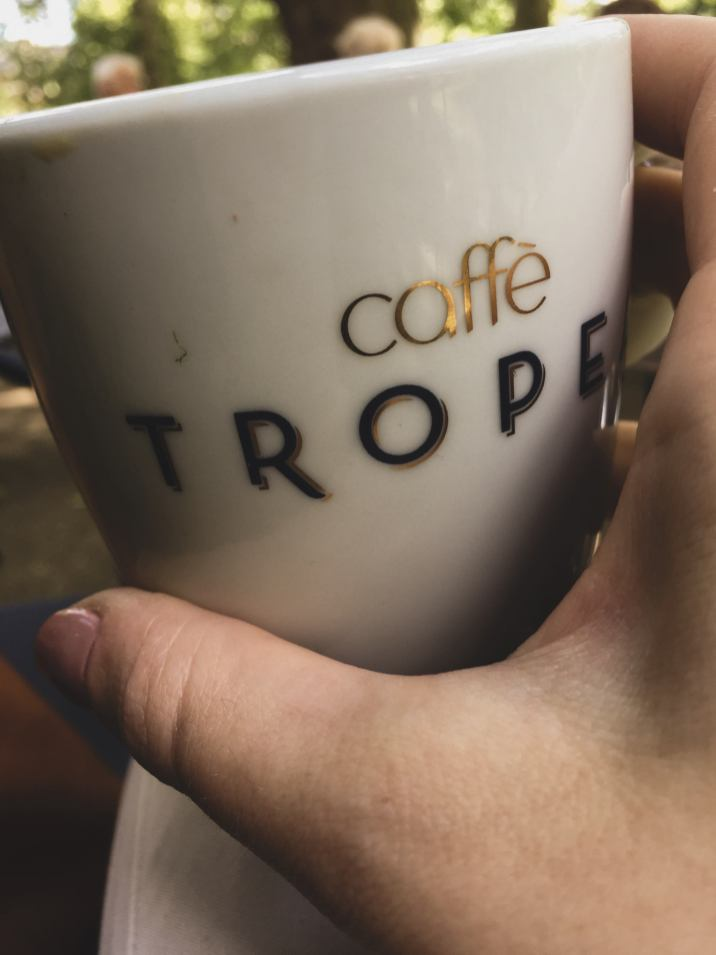 Caffè Tropea, latte